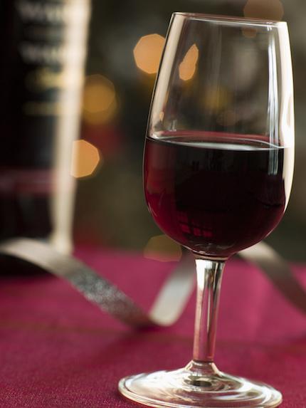 Portwein dekantieren