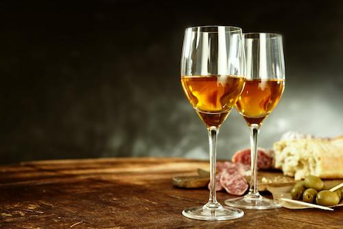 Sherry oder Portwein