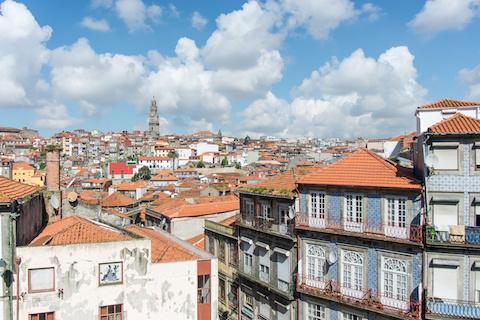 Hafenstadt Porto - Panorama Altstadt