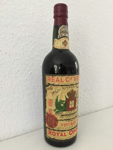 Portwein Jahrgang 1962 - Royal Oporto - Vintage Bottle Port Vine