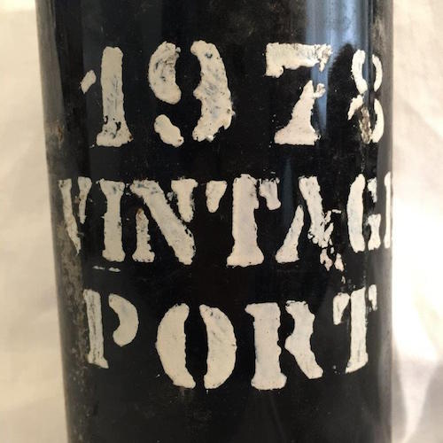 Portwein Jahrgang 1978 Flagman