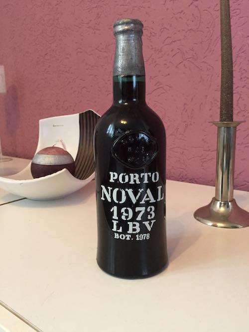 Alter Portwein - Portweinkiste