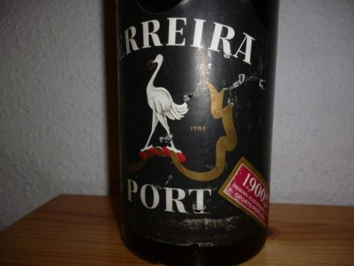 Portwein Jahrgang 1900 - Ferreira