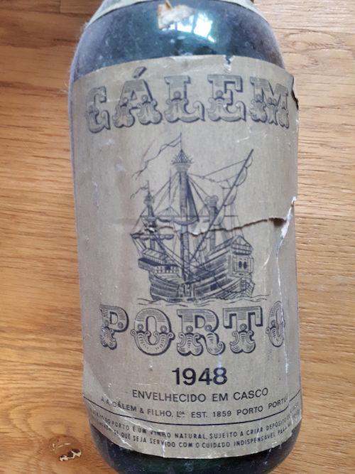 Portwein Jahrgang 1948